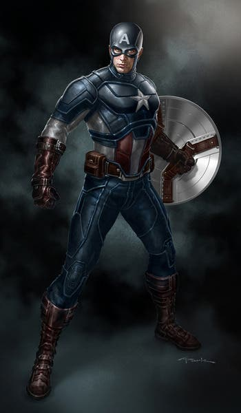 Capitán América por Andy Park