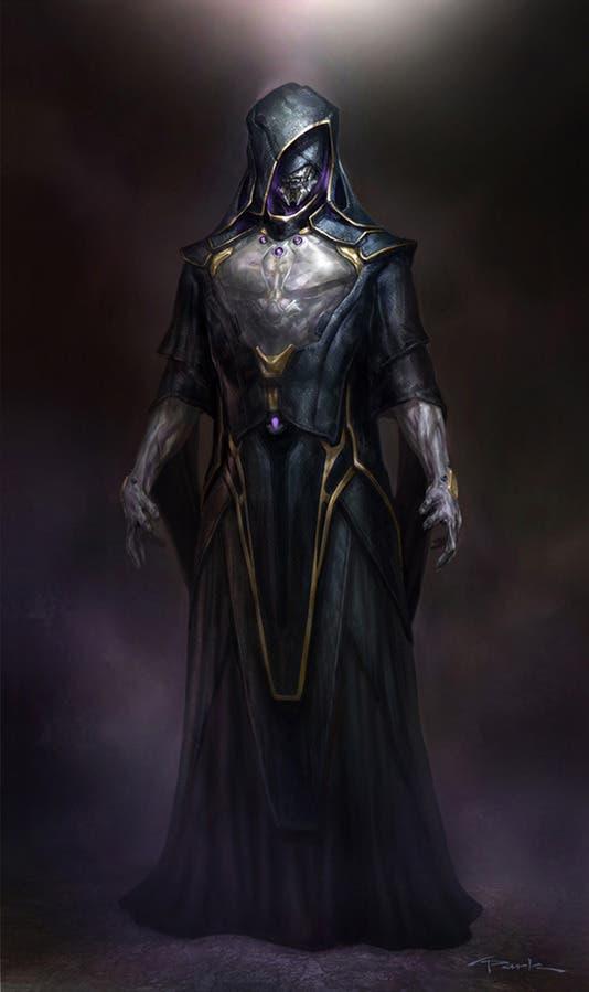 Ilustración realizada por Andy Park del servidor de Thanos Vengadores