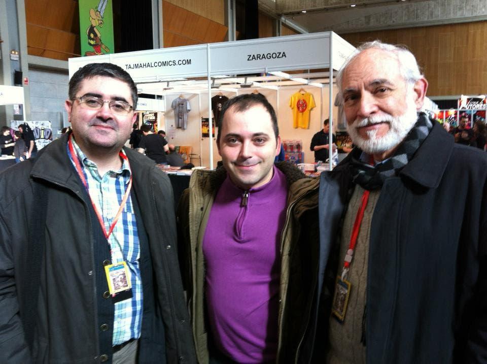 Con Jan y el editor de Don Talarico