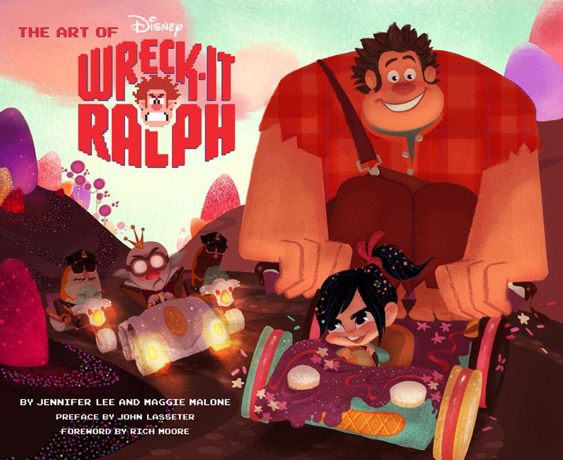 Portada de The Art of Wreck-it Ralph