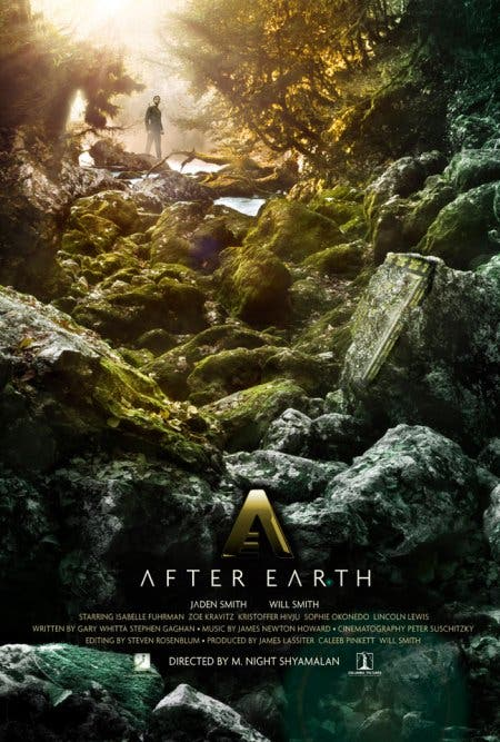 Poster de after earth