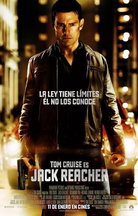 Poster final de Jack Reacher