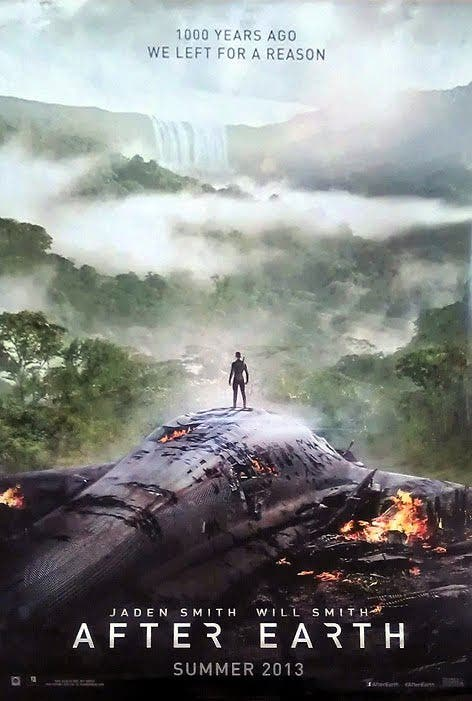 afterearthposter Nuevo poster de AFTER EARTH