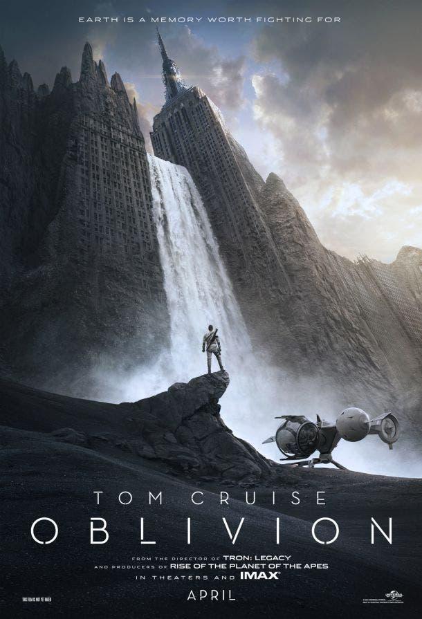 Primer póster de Oblivion