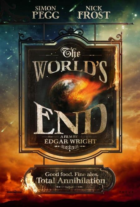Edgar Wright THE WORLD'S END