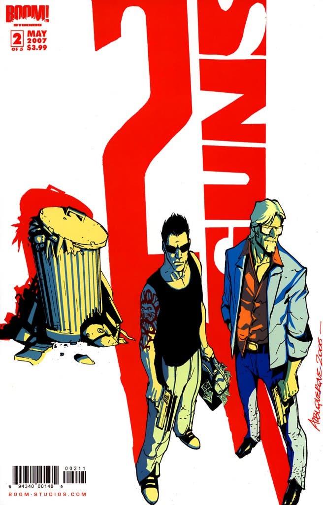 Portada del comic 2 Guns