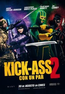 Teaser poster de Kick-Ass 2: Balls to the Wall