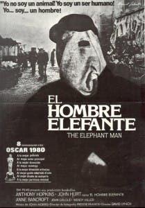 Poster El hombre elefante