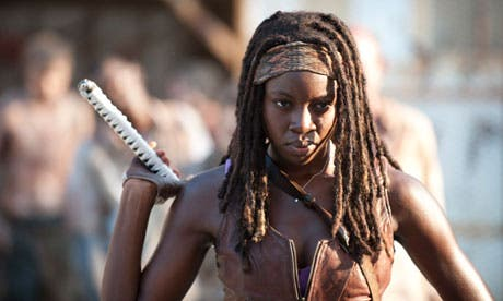 Michonne in The Walking Dead