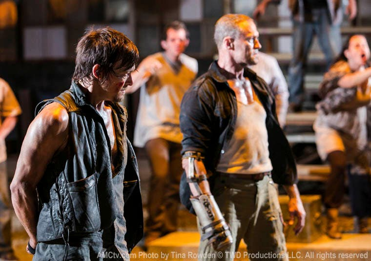 Imagen de la tercera temporada de The Walking Dead
