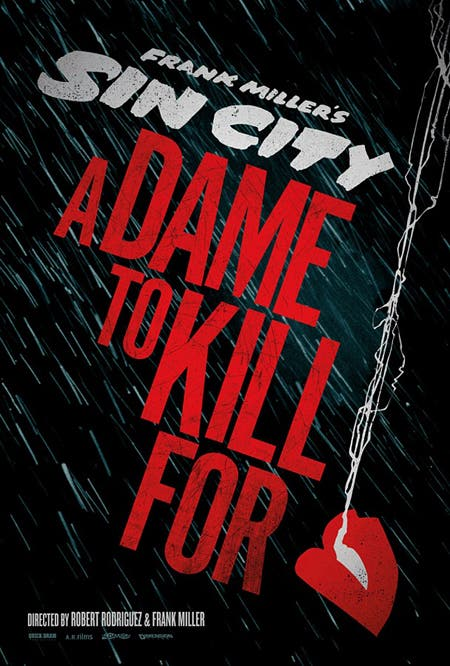 Póster Sin City: A Dame to Kill For
