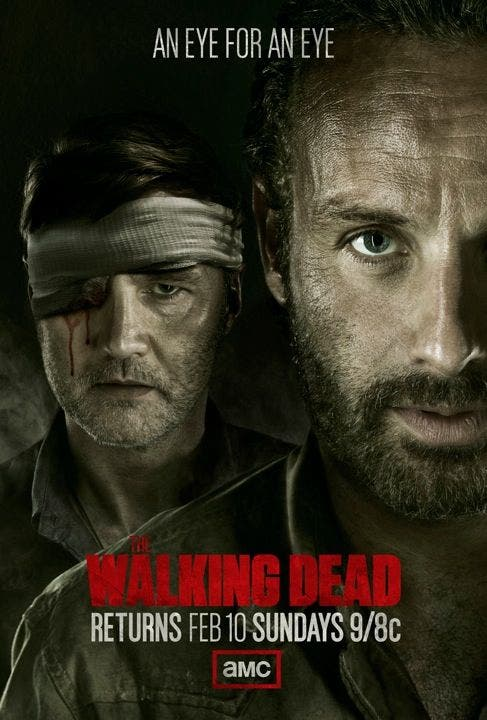 Poster de la tercera temporada de The Walking Dead