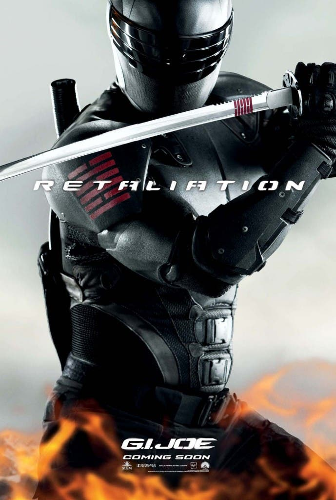 2307739 gi joe 2 snake eyes retaliation movie poster 689x1024 G.I. Joe: Venganza. Os presentamos a Snake Eyes