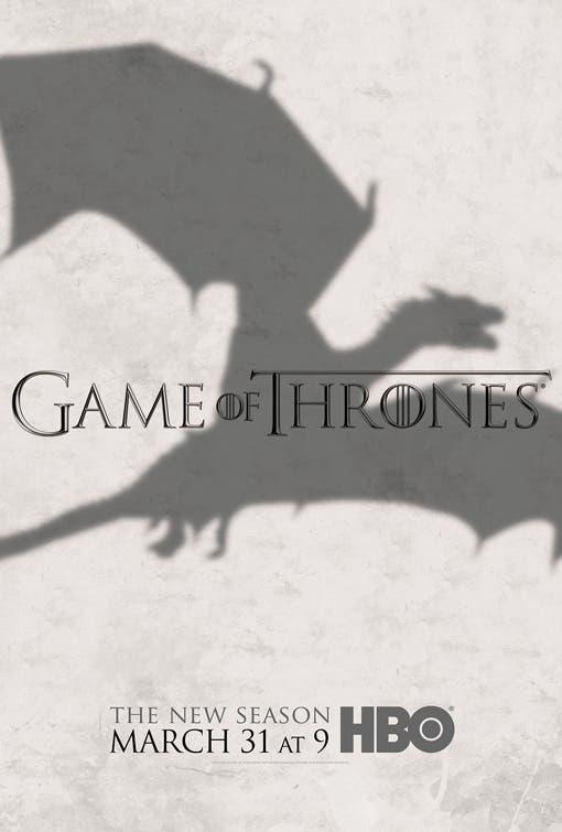 Juego de tronos season 3 dragon poster