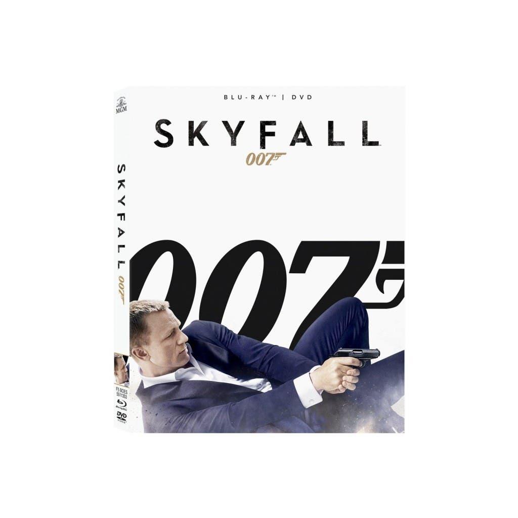 Caratula de Skyfall Blu-ray