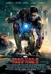 Poster de Iron Man 3 con Tony Stark