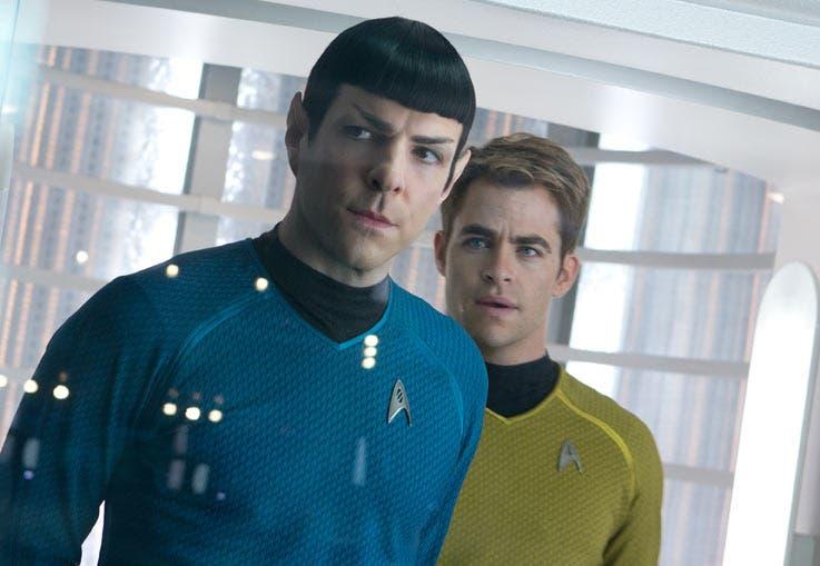 Zachary Quinto y Chris Pine repiten sus respectivos papeles en Star Trek en la oscuridad