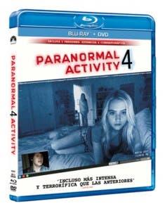 estuche Paranormal Activity 4 Actividad paranormal
