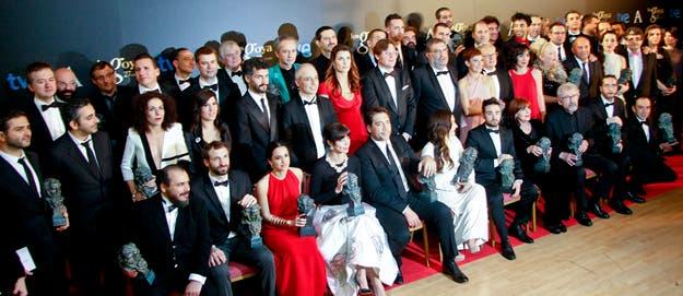 Foto de familia Premios Goya