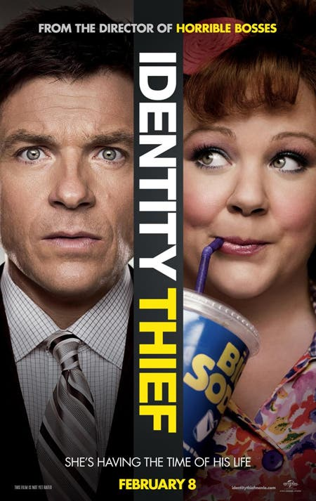 Box Office USA póster de Identity Thief