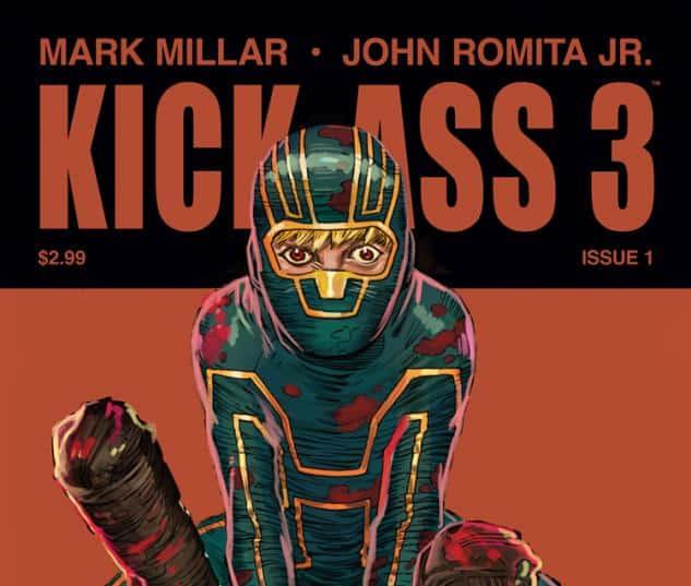 Portada kick-ass 3