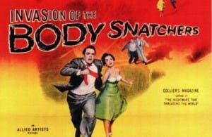 Cartel de 'La invasión de los ladrones de cuerpos', de Don Siegel