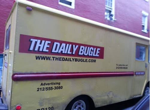 Furgoneta de The Daily Bugle