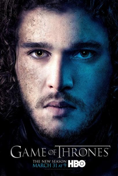 Kit Harington es Jon Snow