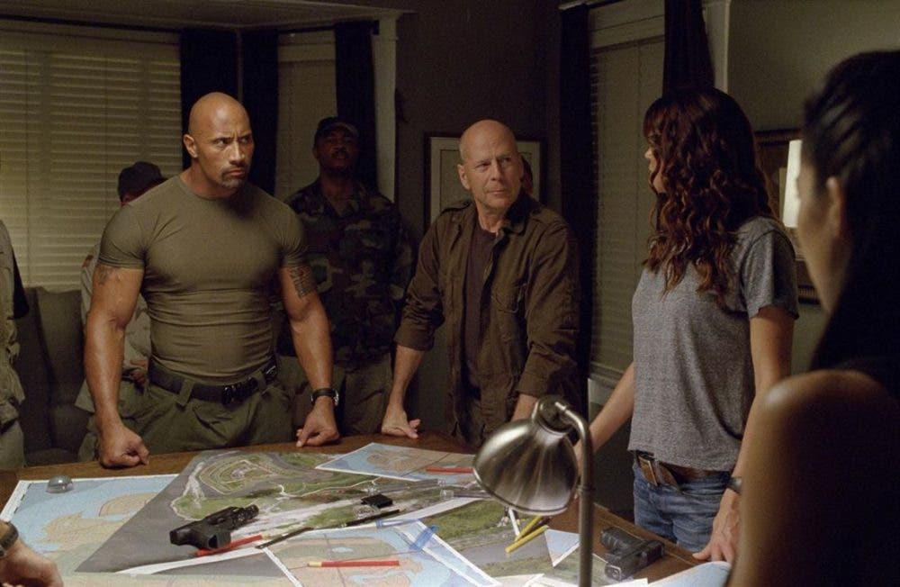 Bruce Willis en Gi Joe la venganza
