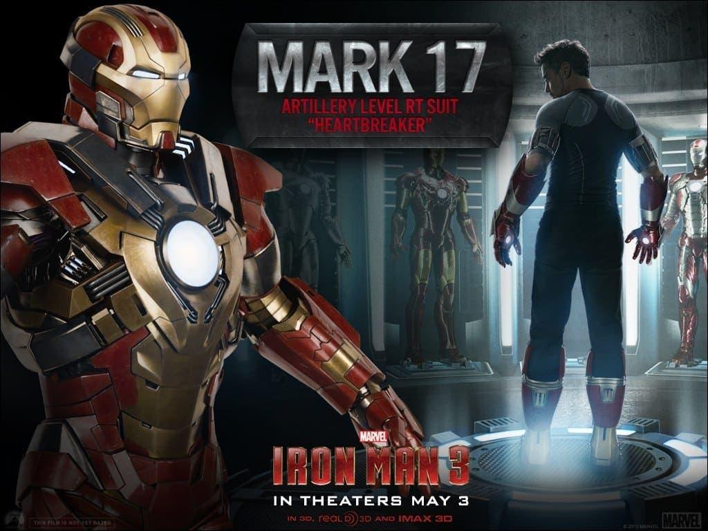 2 nuevas armaduras de Iron Man 3