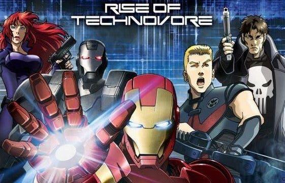 Iron man la rebelion de technivoro