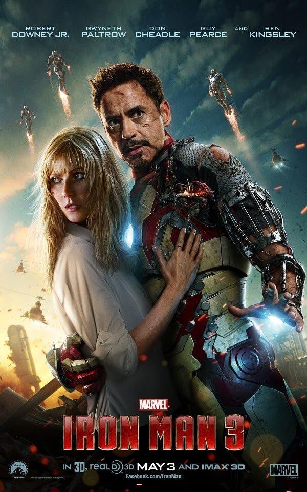 Nuevo poster de Iron Man 3