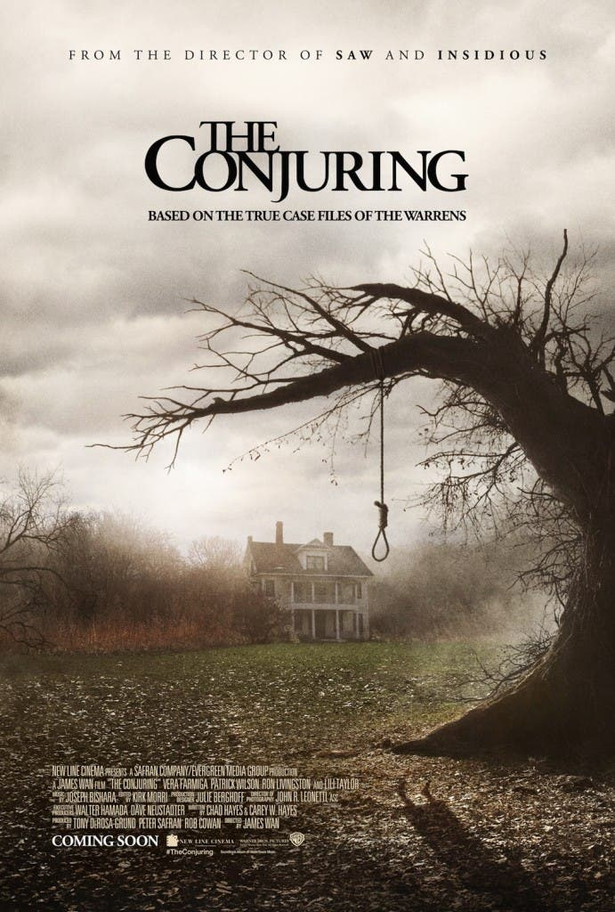 Poster final deExpediente Warren: The Conjuring