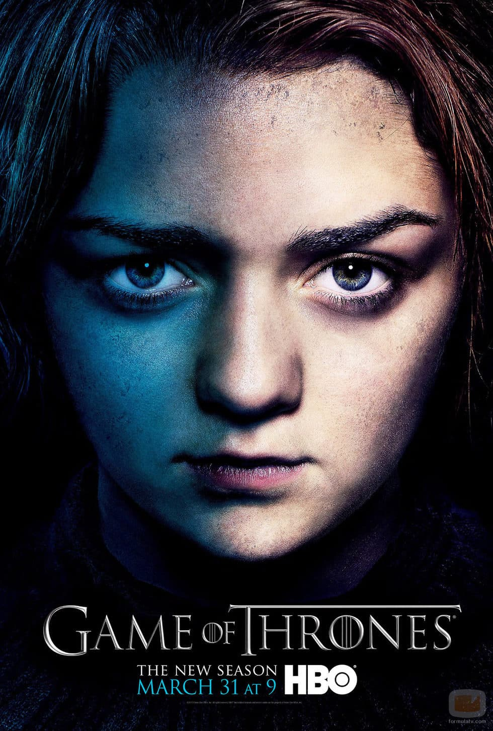 arya-stark-poster-promocional-tercera-temporada-juego-de-tronos