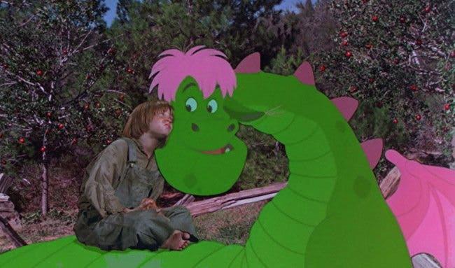 Pedro y el dragón Elliott Disney planea un reboot