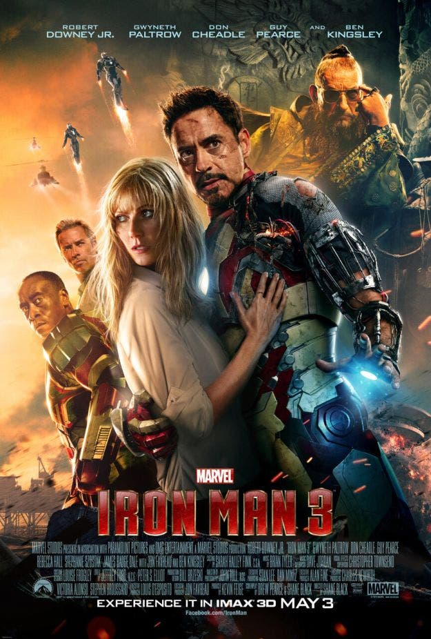 poster imax iron man 3 Box Office USA: Lo esperado, Iron Man 3 arrasa