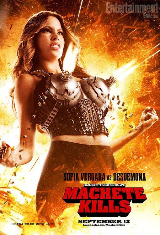 Poster de Sofía Vergara para MACHETE KILLS