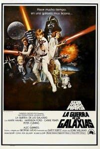 Una nueva esperanza episodio IV Star Wars poster