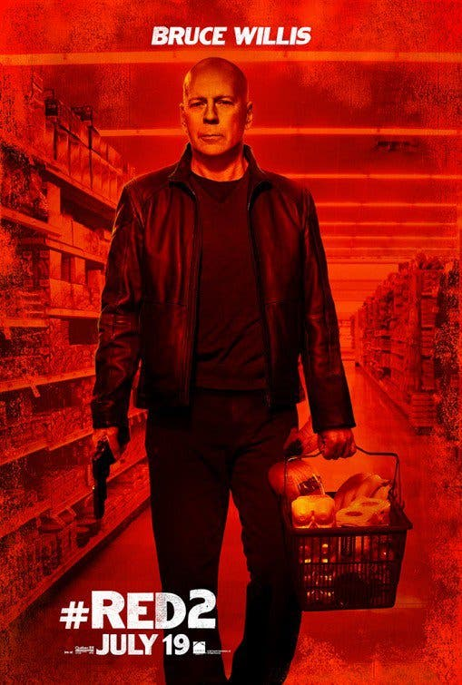 Bruce Willis RED 2