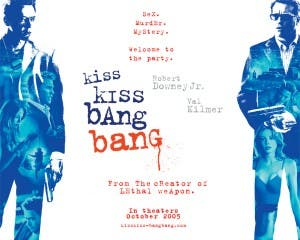 Cartel de 'Kiss Kiss Bang Bang'