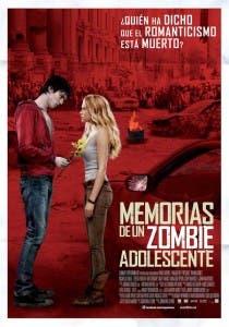 Cartel en español de 'Memorias de un zombie adolescente'