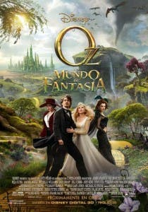 Cartel de 'Oz, un mundo de fantasía'