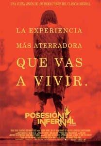Cartel en español de la nueva 'Posesión infernal'