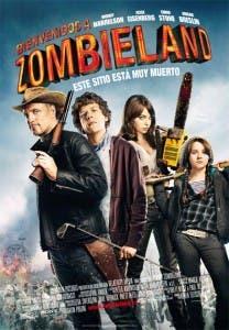 Cartel español de 'Bienvenidos a Zombieland'