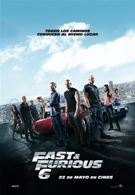 Cartel final de Fast and Fuirous 6