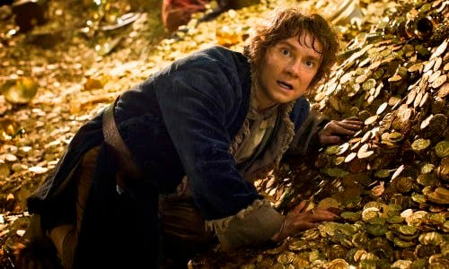 MARTIN FREEMAN es Bilbo Baggins en El Hobbit la desolación de Smaug