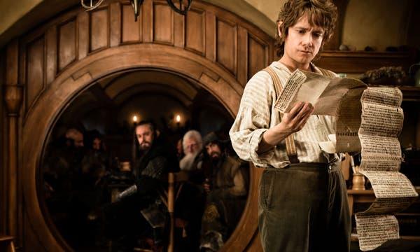 Martin Freeman, en un fotograma de 'El hobbit' El Hobbit: Un viaje inesperado