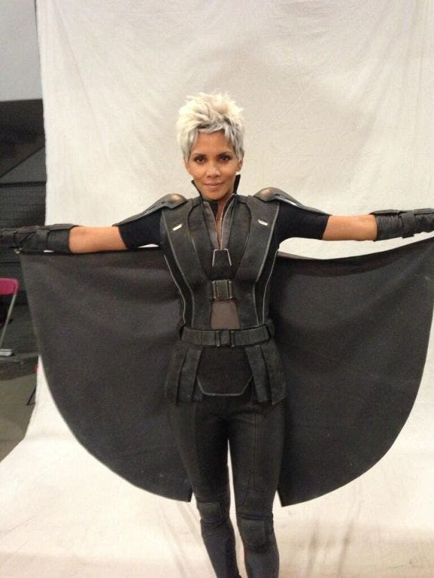 Halle Berry Tormenta en X-Men dias del futuro pasado
