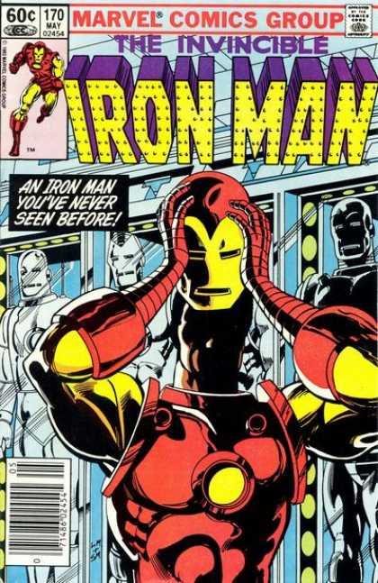 Portada Iron Man Nº 170