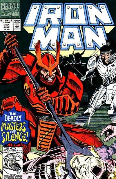 Portada Iron Man Vol 1 281